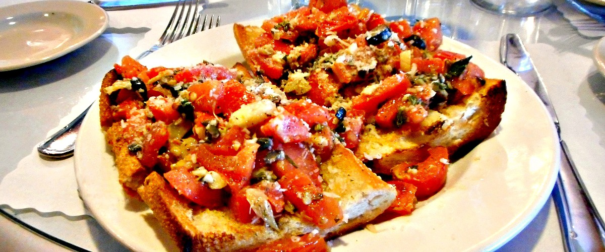 Something To Love.....  The $7.95 Bruschetta